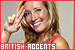 Accents: British/English: