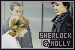 Sherlock: Sherlock Holmes and Molly Hooper: